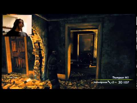 Sniper Elite: Nazi Zombie Army 2 part 6 - Burning with Style |