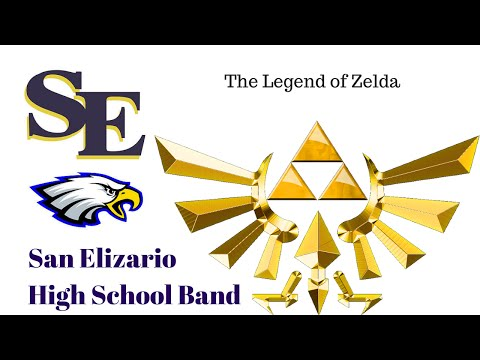 Legend of Zelda Main Theme San Elizario High School Band