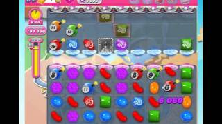 Candy Crush Saga Level 1602 Hard!!! time level. No Boosters