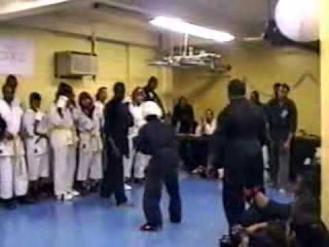 Sparring at 1996 Power of Self Promotion