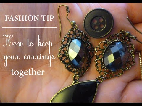 Travel Tip How To Keep Your Earrings Together Youtube