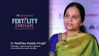 Dr Radhika Reddy Pingili at Fertility Conclave Hyderabad Edition