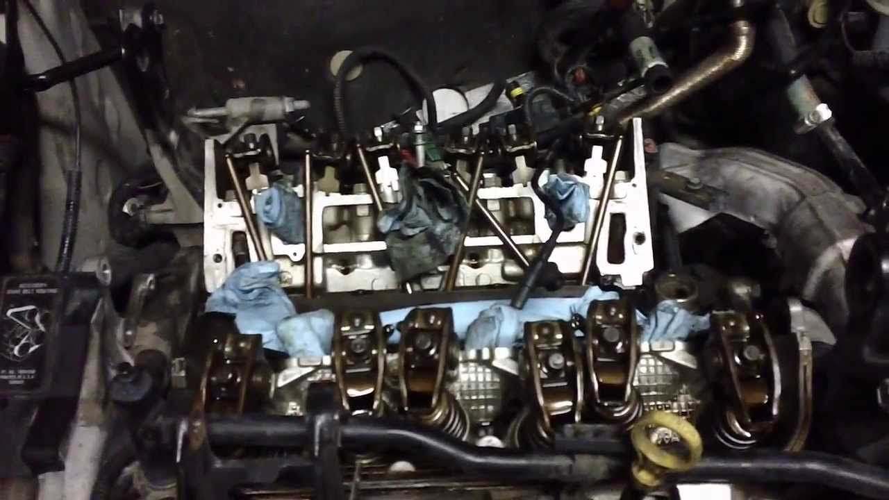 gm 3100 intake gasket replacement [ 1280 x 720 Pixel ]