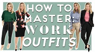 HOW TO MASTER Work Outfits Ep 2