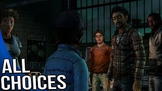 The Walking Dead Game Season 2 Episode 3 - All Choices/ Alternative Choices
