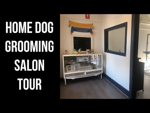 Tour My Home-based Dog Grooming Salon!