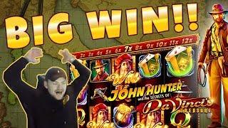 Da Vincis Treasure BIG WIN - Online Slots gambling from Casinodaddy