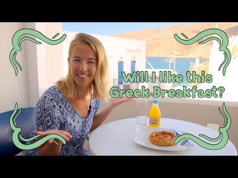 I Try A Traditional Greek Breakfast!