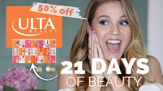 Ulta 21 Days of Beauty SALE// Highlights & Recommendations!