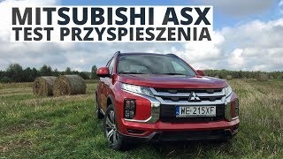 Mitsubishi ASX 2.0 150 KM (AT) - acceleration 0-100 km/h