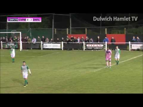 Cray Valley (PM) 3-2 Dulwich Hamlet, London Senior Cup Semi Final, 20/04/17 | Match Highlights
