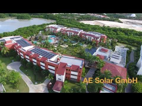 AE Solar EPC project in Dominicana Republic 1,2 MW