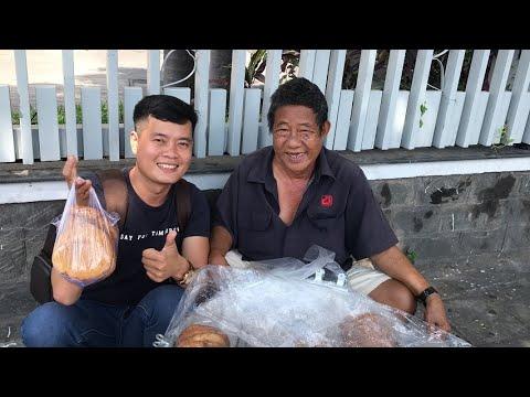 Khương Dừa ăn sáng với 9 cái bánh tiêu to đùng!!!
