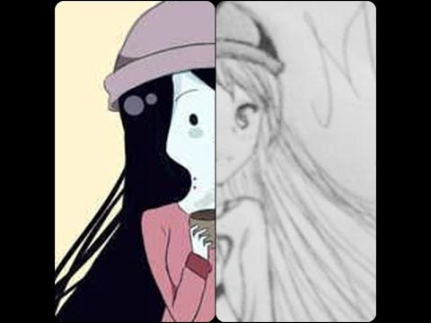 How to Draw: Marceline ( Adventure Time) in (my) anime ...