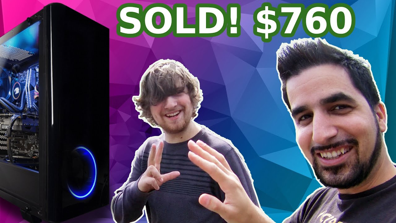 I Paid $4000 for $30,000 Worth of GAMING PC'S! GPU Giveaway Winner!