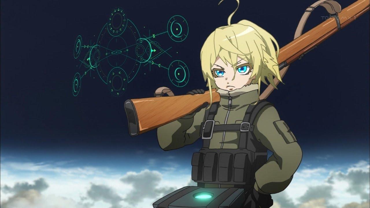 Top 8 Military Anime Remake Ver