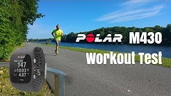 Polar M430 Workout Test [deutsch/english subtitle]