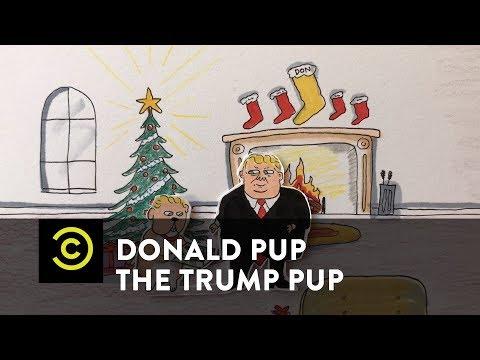 Donald Pup the Trump Pup - A Trump Pup Christmas