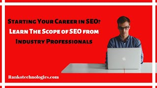 Scope of SEO Training Course in India   Know Why Should you Learn SEO in 2018