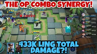 18K LING CRITICAL DAMAGE | THE DEADLY COMBO OF DEMON + DRAGON ALTAR SYNERGY - CHESS TD