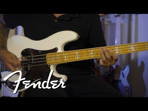 Chris Aiken on his Squier Signature P Bass | Fender from YouTube · Duration:  2 minutes 53 seconds