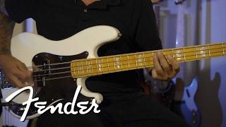 Chris Aiken on his Squier Signature P Bass | Fender