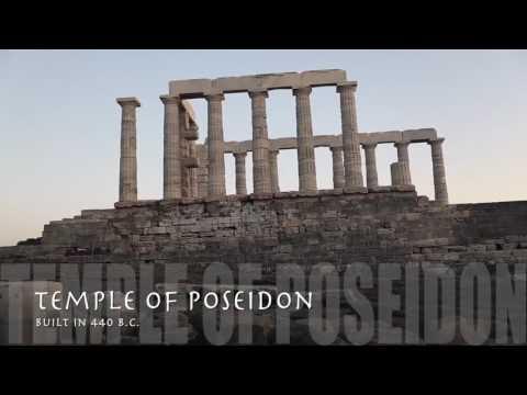 Travel Guide The Temple of Poseidon Cape Sounion, Greece