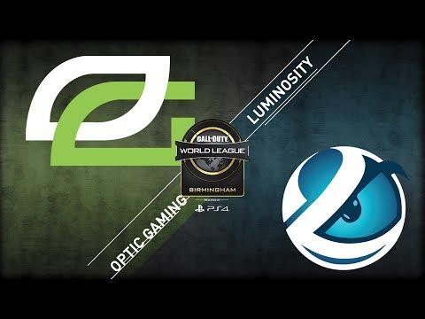 OpTic Gaming vs Luminosity | CWL Birmingham Open | Championship Sunday