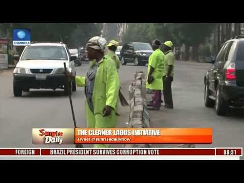 The Cleaner Lagos Initiative Will Be The Biggest Empowerment Project In Nigeria | Sunrise Daily