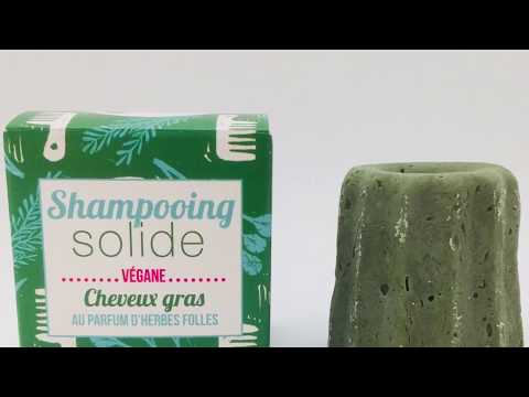 Shampoing Solide Pour Cheveux Gras Aux Herbes Lamazuna