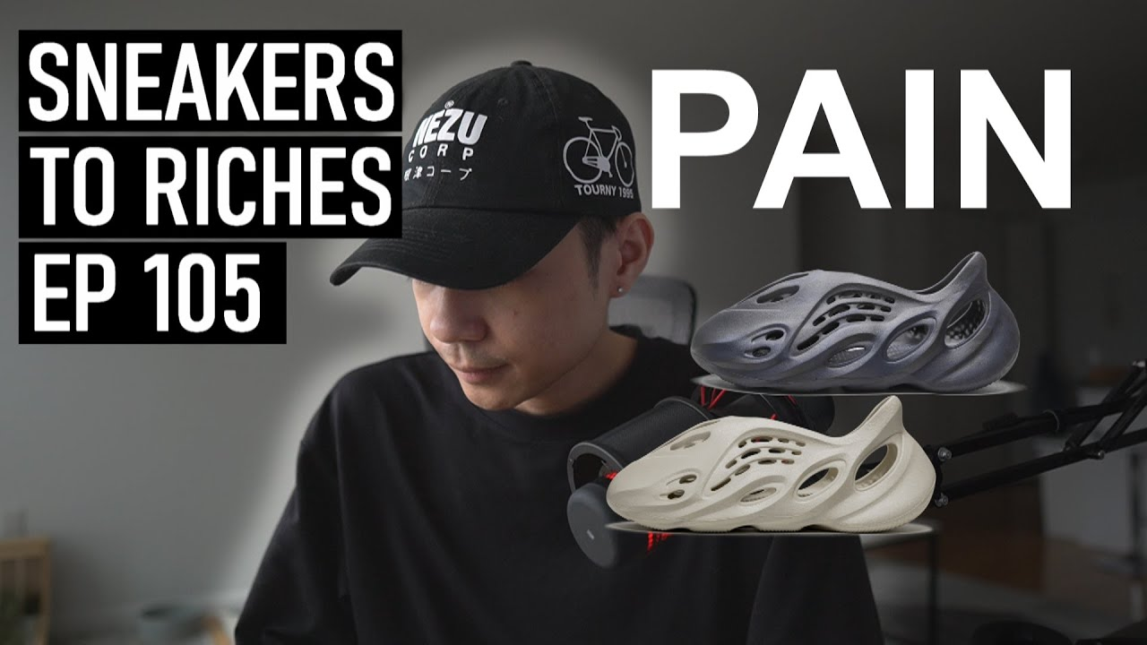 Botting the Yeezy Foam RNNR Moon & Sand - Sneakers To Riches Ep 105