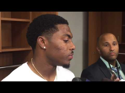 Marcus Murphy talks about his performance vs. Texans