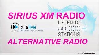 SIRIUS XM RADIO ALTERNATIVE XiiaLive Pro INTERNET RADIO