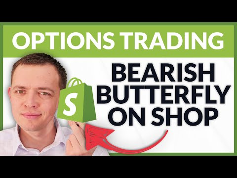 SHOP Bearish Butterfly Trade and Trading the VIX Options Strategies (Members Preview)