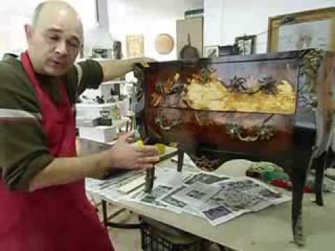 Curso de restauraci n de muebles youtube for Cursos restauracion muebles