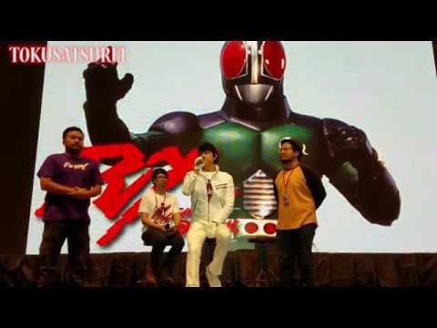 Interview With Tetsuo Kurata (Kotaro Minami) BOTT 2018 – Kamen Rider Black 30th anniversary