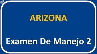 Examen De Manejo De Arizona 2