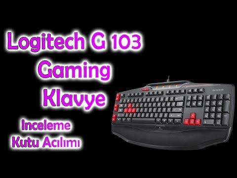 Logitech G103 Gaming Keyboard   Klavye Kutu Açılımı Ve İnceleme