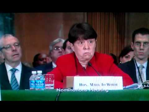 SEC nominee Mary Jo White reinforces the idea of a two tier system of justice