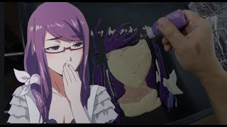Download Video Pancake Art - Rize Kamishiro (Tokyo Ghoul) MP3 3GP MP4