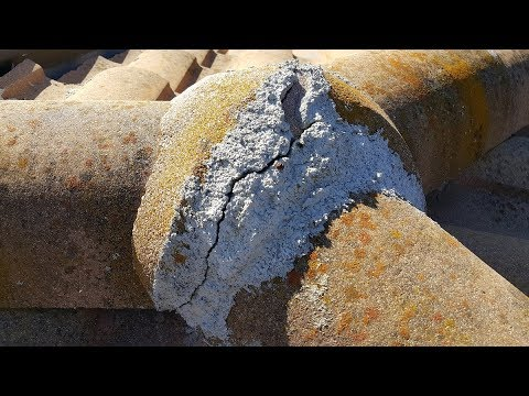 Roofer gets elected to the Roofing Hall of Shame - The Worst Mortar Ever, Watch This!!