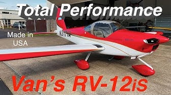 RV-12is Kit Plane  by Van's Aircraft - Light Sport Aircraft (LSA)