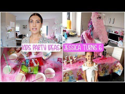 Kids Birthday PARTY IDEAS | JESSICA TURNS 6
