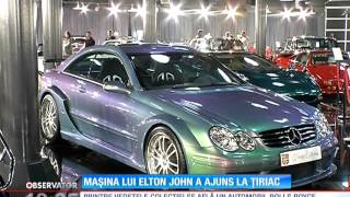 Colecţia de maşini rare a lui Ion Ţiriac, expusă publicului