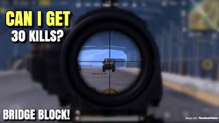30 Kills Fail Attempt | PUBG Mobile | Pochinki & Bridge Action!