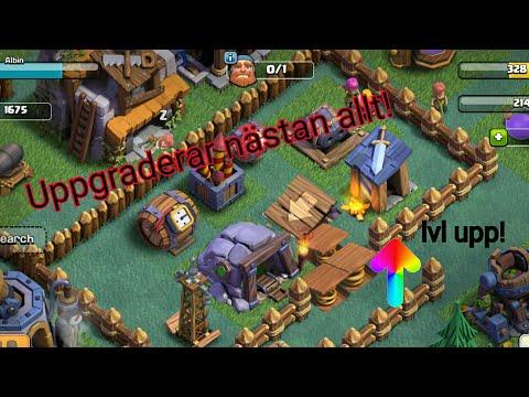 Uppgraderar Guard Post Och Gör Om Basen! (Clash Of Clans)