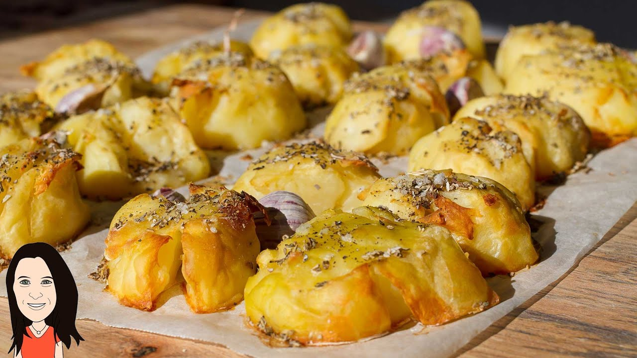 Best Ever Oven Roasted Baked Potatoes  No Oil Recipe!