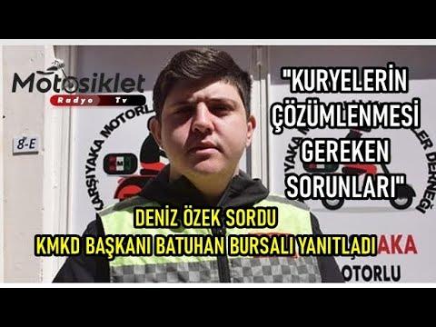 Motosiklet Hikayeleri 1. Bölüm KMKD Başkanı Batuhan Bursalı