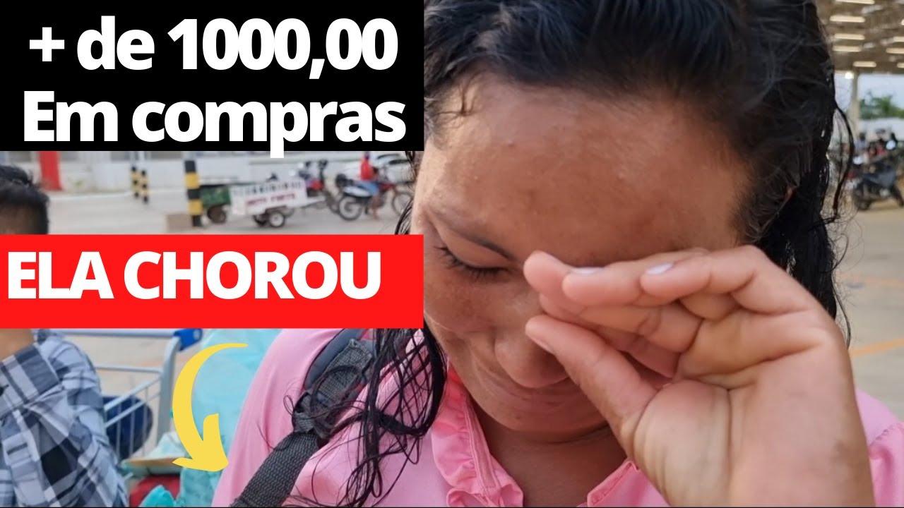 Download MÃE CHORA AO FAZER MAIS DE R$MIL REAIS EM COMPRAS NO SUPERMERCADO