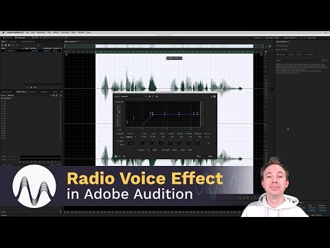 How to Make the Radio Voice Effect in Adobe Audition